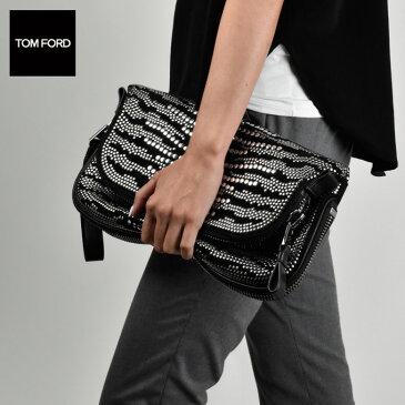 トムフォード TOM FORD ジェニファースタッズ クラッチバッグ ブラック ls676r spdblk レディース/バッグ/BAG【送料無料】[tom-0131]