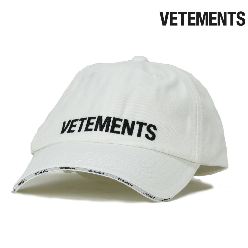 メンズ帽子, キャップ  VETEMENTS LOGO CAP06mar