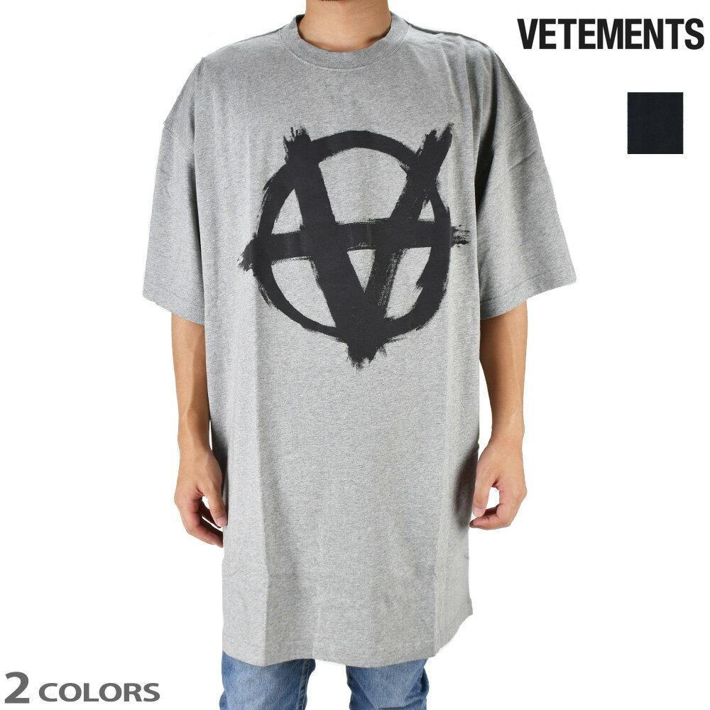 トップス, Tシャツ・カットソー 055SALE T T VETEMENTS ANARCHY TEE