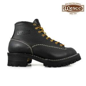 ウェスコ WESCO ジョブマスター オールブラック Wesco Jobmaster All Black BK106100 6インチ 【送料無料】