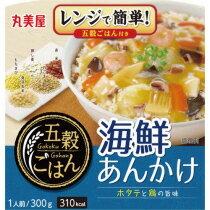 丸美屋 五穀ごはん 海鮮あんかけ 300g 1セット(24食)