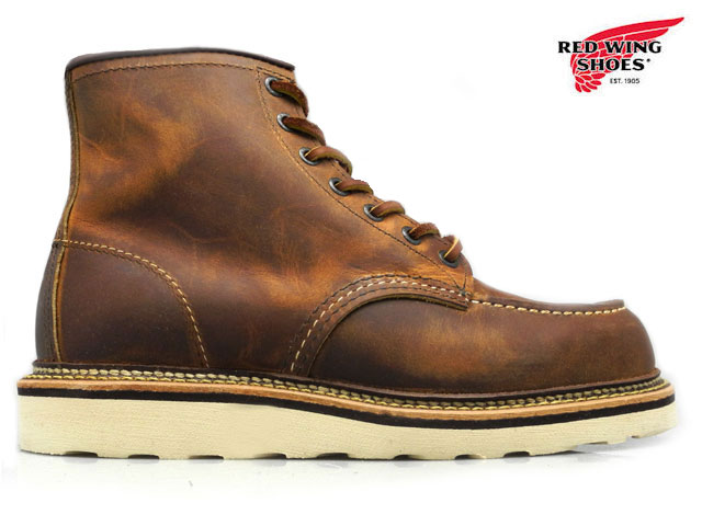ブーツ, ワーク 127 2000410OFF600OFF RED WING 1907 COPPER ROUGH TOUGH 6
