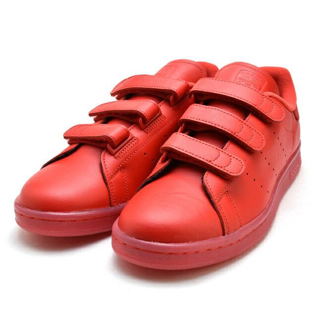 アディダス adidas S80043 スタンスミス STAN SMITH STANSMITH CF メンズ レディース 赤 レッド RED ベルクロ  【