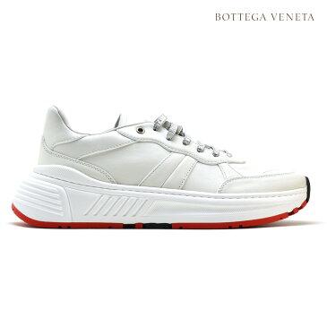 ボッテガヴェネタ BOTTEGA VENETA 565646 VT040/9000 SPEEDSTER CARF スニーカー ローカット シューズ 靴 ホワイト 白 メンズ