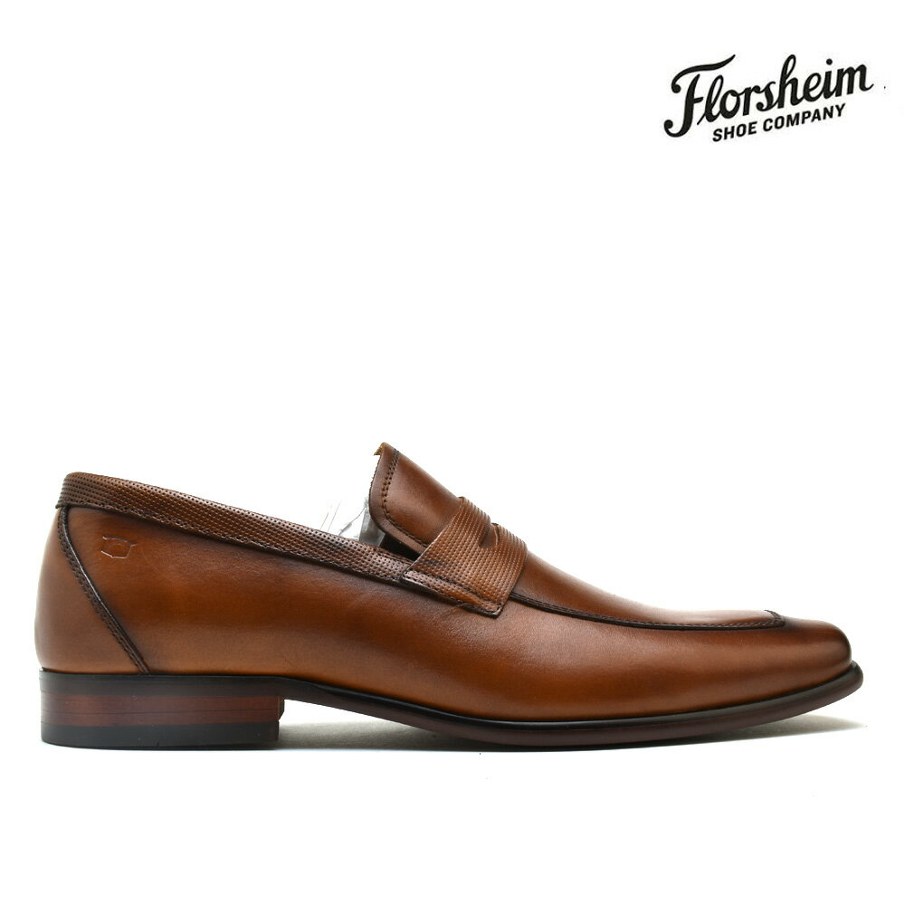 メンズ靴, ビジネスシューズ  FLORSHEIM 15151-221 POSTINO MOC TOE PENNY LOAFER BROWN COGNAC
