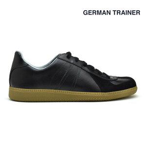 ジャーマントレーナー ブラック 黒 GERMAN TRAINER 1183 BLACK ドイツ軍 トレーニングシューズ スニーカー