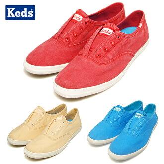 keds Keds CHILAX女士RE D紅reddosuripponteirasuifuto 52748 52515 52509運動鞋