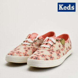 keds Keds CHERRY BLOSSOM女士TAYLOR SWIFT'S粉紅PINK teirasuifuto 52211運動鞋