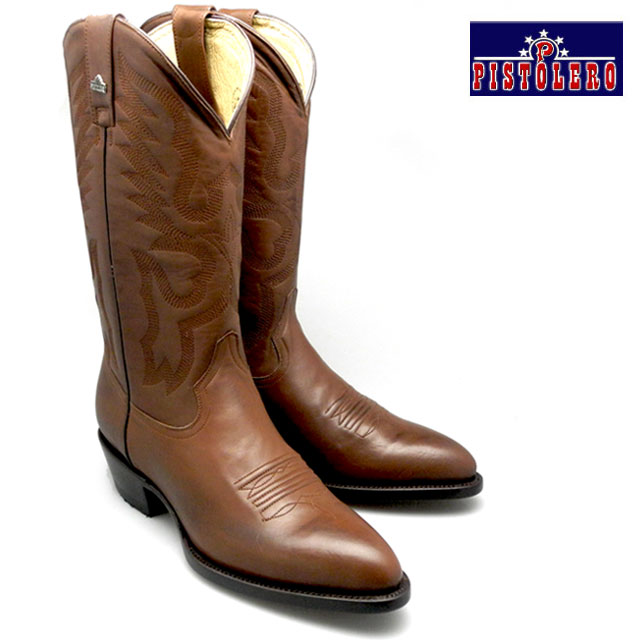 Brown Cowboy Boots - Cr Boot