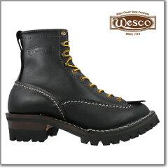 【送料無料!!】ウエスコウェスコ Wesco Custom Jobmaster BLACK 108100 Leather Height 8inch V...