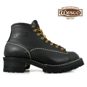 ウェスコ ジョブマスター オールブラック Wesco Jobmaster All Black BK106100 6インチ