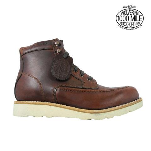 ウルヴァリン 1000マイルブーツ WOLVERINE W00283 ラスト ホーウィンクロムエクセル メンズ ブーツ 1000 MILE EMERSON WEDGE BOOT Horween Chromexcel Leather