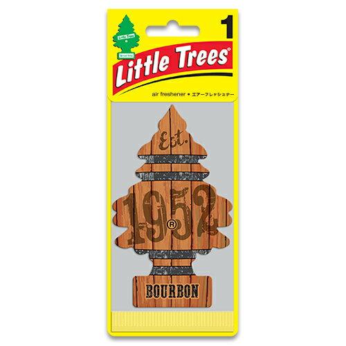 芳香剤 リトルツリー エアフレッシュナー「バーボン」-10975- Little Trees クルマ用 吊り下げタイプ 車用芳香剤 アメリカ雑貨 アメリカン雑貨