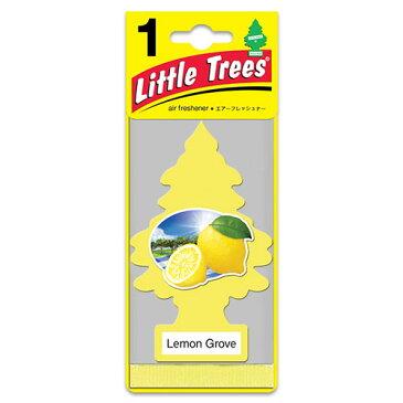 リトルツリー エアフレッシュナー「Lemon Grove (レモングローブ )」 芳香剤 車用芳香剤 吊り下げタイプ アメリカ雑貨 アメリカン雑貨