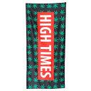 タオル ビーチタオル HEMP HIGH TIMES 70×150cm ヘンプ 大判 アメリカン雑貨