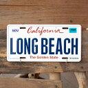 CMプレート 「CALIFORNIA - LONG BEACH」 CM...