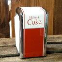 COCA-COLA BRAND コカコーラブランド ナプキンディスペンサー PJD-TC02 ナプキン入れ キッチンウエア アメリカンインテリア アメリカ雑貨 アメリカン雑貨
