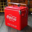 COCA-COLABRANDコカコーラブランドレトロピクニックストレージボックス(レッド)クーラーボックス