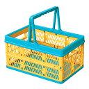 折りたたみ コンテナ フォールディングボックス オレンジ SSB-31OR 収納ボックス おもちゃ箱 子供部屋 アメリカン雑貨