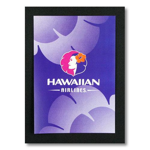ハワイアンポスター エアラインシリーズ <ハワイアン航空> A-4 アメリカ雑貨 アメリカン雑貨