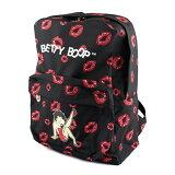 バックパック ベティ・プープ シッティング w/リップ (#7B) Betty Boop レディース リュックサック キャラクター アメリカン雑貨