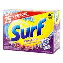 Surf サーフ洗濯洗剤 粉末 スプリングバースト 1.47kg (52oz ) 日用品 洗濯用品 アメリカ製 アメリカ雑貨 アメリカン雑貨