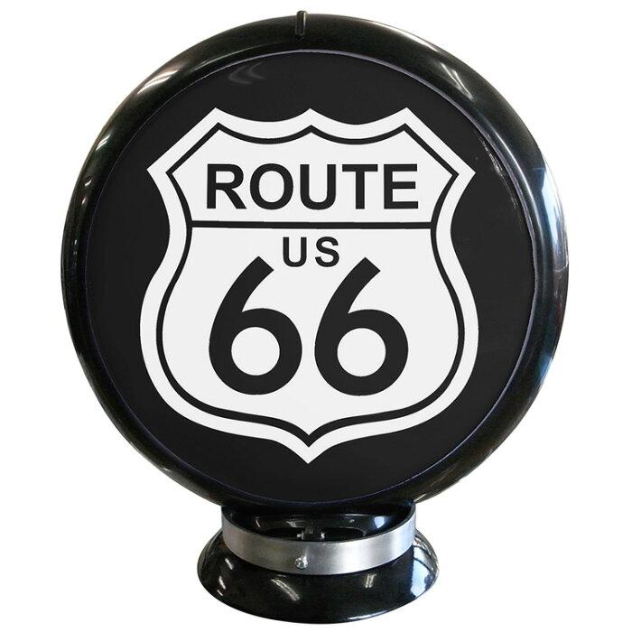 ガスランプ Route 66 ルート66 ガソリン給油機 ガソライト ライト レトロ 照明 アメリカ雑貨 アメリカン雑貨