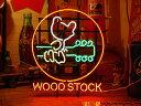 【送料無料】ネオンサイン / WOOD STOCK