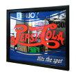 パブサインミラー「PepsiHitsTheSpot」#76034サイズ:33×38cm/パブミラー/ペプシコーラ/アメリカン雑貨/