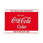ポスター おしゃれ コカコーラ 「The Pause」 PO-C16 COCA-COLA 72.8×51.5cm B2 インテリア アメリカ雑貨 アメリカン雑貨
