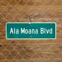 ハワイストリートサイン(S) Ala Moana Blvd(アラモアナ大通り) ★ 05P28Mar12 ★