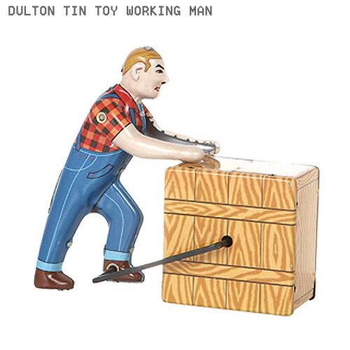 ブリキ おもちゃ ダルトン ティントイ WORKING MAN MS475 DULTON アメリカ雑貨 昭和レトロなおもちゃ画像