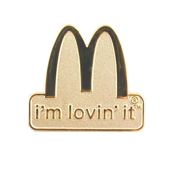 ピンズ マクドナルド 「I'm lovi'n it」 McDonald's ピンバッジ アクセサリー アメリカ雑貨 アメリカン雑貨