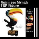 【送料無料】GUINNESS MYNAH ギネスビールの九官鳥フィギュア 【オブジェ/置物/オウム/鳥/アメリカン雑貨/アメ雑】