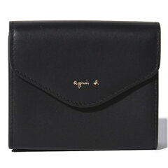 「agnès b.(アニエス・ベー)」の定番レディース二つ折り財布