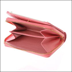 サマンサタバササマンサタバサ正規品送料無料サマンサタバサプチチョイスベルトフラワーシリーズ折財布コーラルピンク