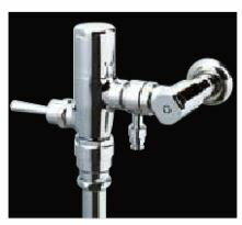 ##INAX定流量弁付・一般地用フラッシュバルブ【CF-T63CW】シャワートイレ分岐付大便器用手動バルブ受注生産4週間