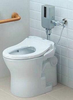 ##TOTOパブリックコンパクト便器・フラッシュバルブ式【セット品番CFS494CENS】オートクリーンC自動バルブユニットコンビネーションタイプ露出タイプ水道水床給水