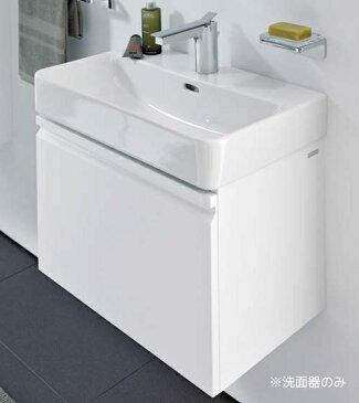 三栄水栓【SL810964-W-104】洗面器 壁付タイプ 水栓取付穴ワンホールタイプ オーバーフロー付 Laufen pro S