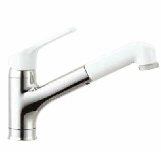 2016年4月発売予定INAXキッチン用水栓金具【SF-HE452SX】ハンドシャワー付シングルレバー混合水栓ワンホールタイプノルマーレ吐水口引出式