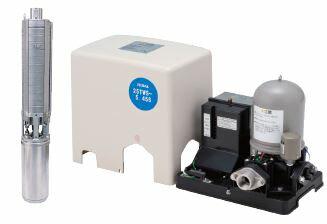 テラル深井戸用定圧給水式ポンプ【25TWS-6.37S-4】60Hz単相100V