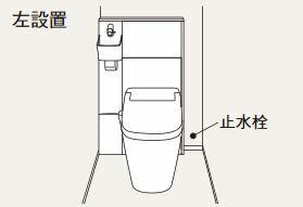 パナソニック アラウーノ専用手洗い【XGH8HGJXPL】背面タイプ タイプAカラー チェリー柄 左設置 (自動水栓)