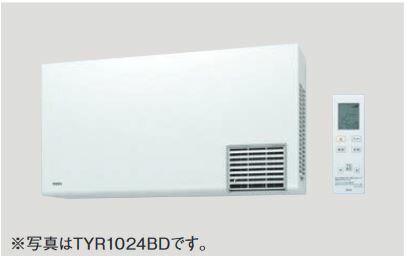 ▽《あす楽》◆15時迄出荷OK!TOTO 洗面所暖房機【TYR1024BD 】(AC200V) ワイヤレスリモコン(赤外線式)付き・予約運転機能付き