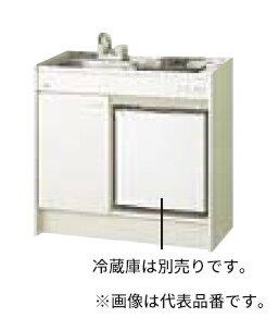 ####INAX/LIXIL ミニキッチン【DMK09HFWE2NN】冷蔵庫タイプ 間口90cm ハーフユニット シングルレバー水栓 コンロなし 寒冷地 受注生産約3週