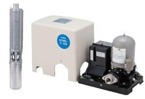 【カード対応OK!】テラル深井戸用定圧給水式ポンプ【25TWS-6.35S-6】60Hz単相100V
