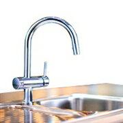 Дクリンスイ【F914ZC】ビルトイン型浄水器アンダーシンクタイプ複合水栓UZC2000付属