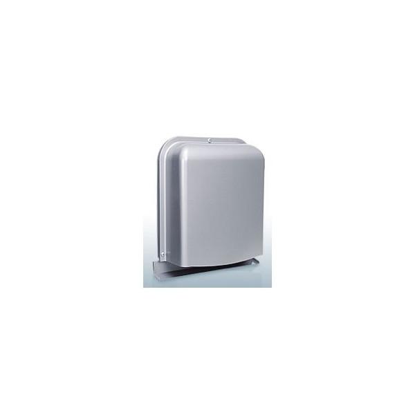 『カード対応OK!』西邦工業【GFX100GABS】深型・薄型・内ガラリ・防音タイプ・下部開放防音型製品・ステンレス製換気口・ワイド水切り付