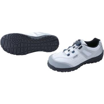 ■〒ジャパーナ/IGNIO 靴【IGS1037TGF-WH27.5】(8559080)IGNIO ダイヤル式セーフティシューズ A種 耐滑ローカットホワイト27.5 受注単位1