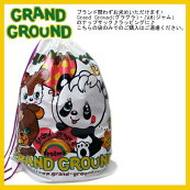 JAM【ジャム】ラッピング♪【グラグラ/GrandGround】子供服ショルダーバッグ/ナップサックギフトにも♪(F)GB-5
