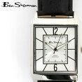 ベンシャーマンBenSherman腕時計シルバーフェイスレクタングル長方形縦長16AW新作メンズモッズギフト